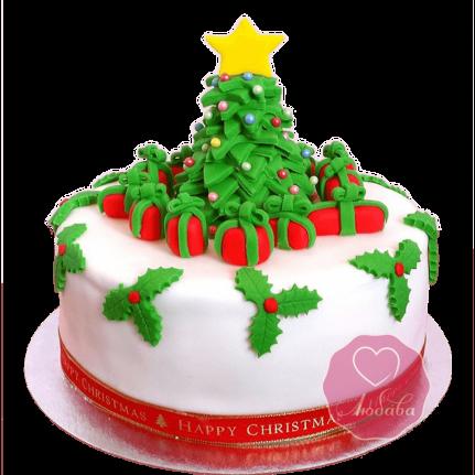 Торт Новогодний елочка №1766
