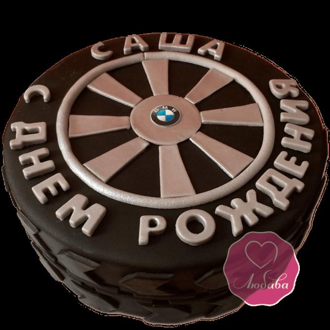 Торт на день рождения автослесарю №1772