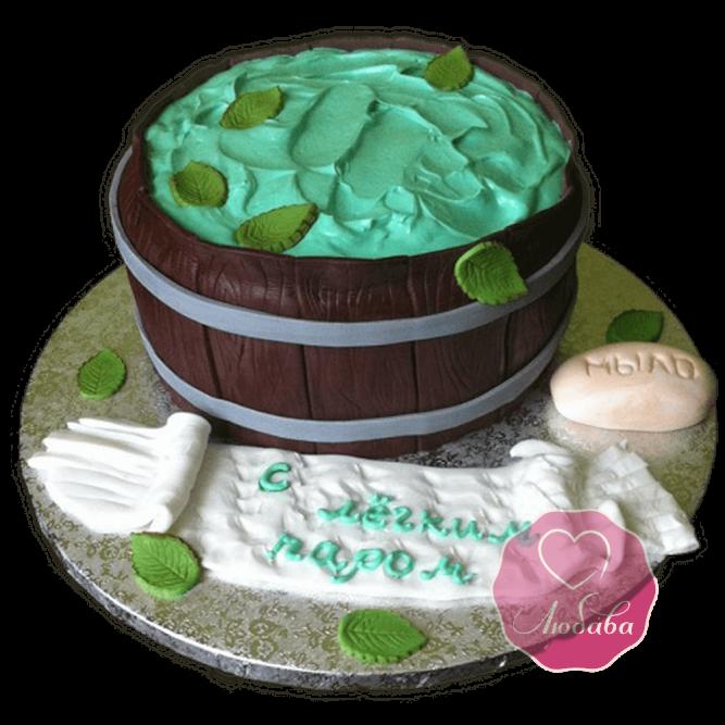 Торт на день рождения банщику №1776