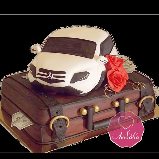 Торт на день рождения дипломату №1780
