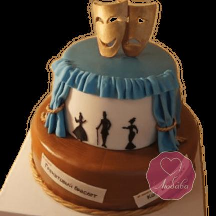 Торт на день рождения актеру №1784