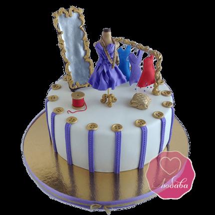 Торт на день рождения дизайнеру №1785