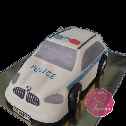 Торт на день рождения работнику ГИБДД автомобиль №1788