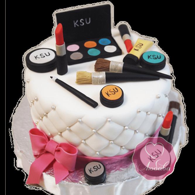 Торт на день рождения косметологу №1794