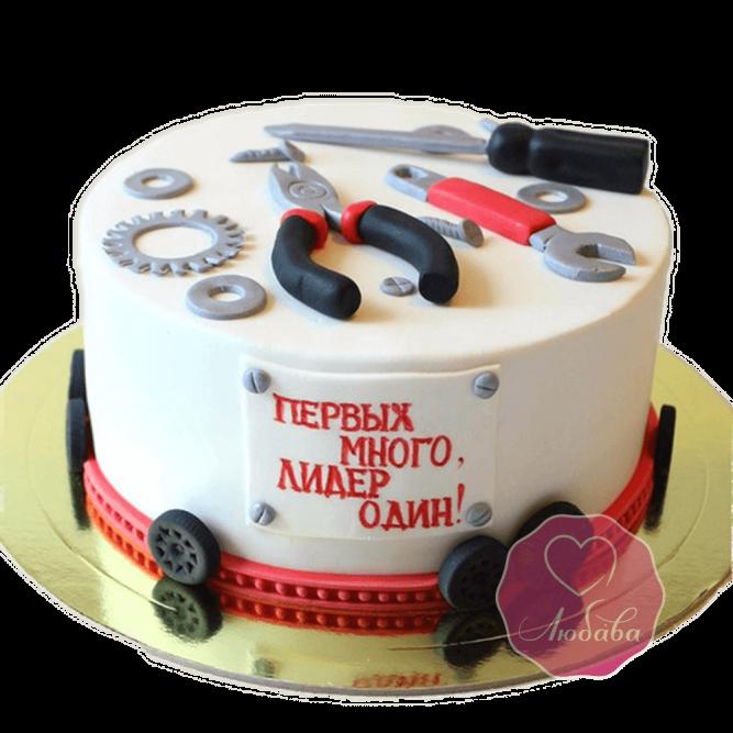 Торт на день рождения механику №1797