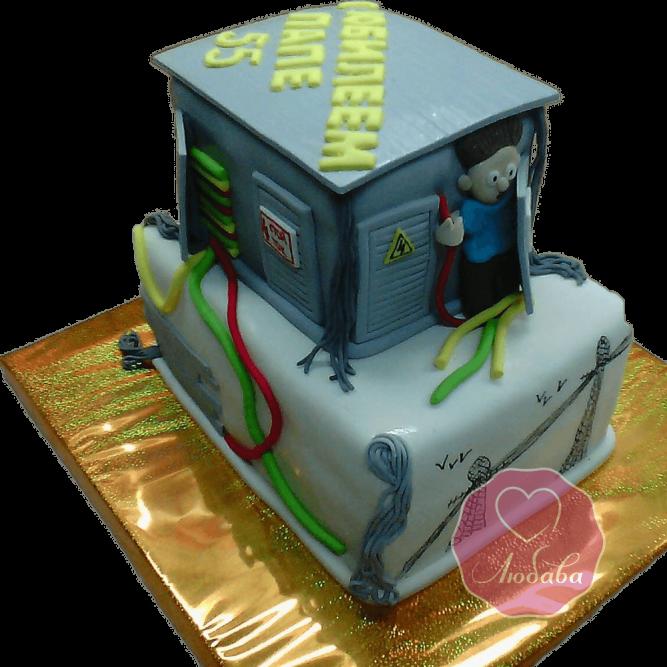 Торт на день рождения сварщику №1803