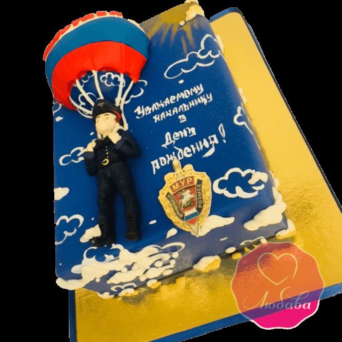 Торт на день рождения сотруднику полиции №1816