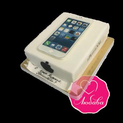 Торт на день рождения Iphone №1825