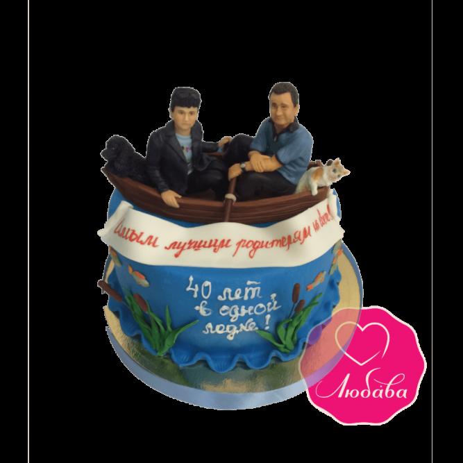 Торт на юбилей свадьбы №1840
