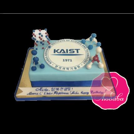 Торт на день рождения для химика №1852