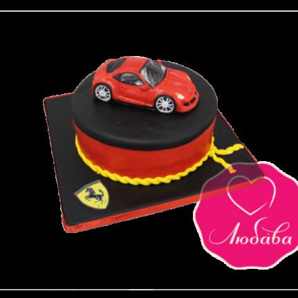 Торт на день рождения феррари №1857