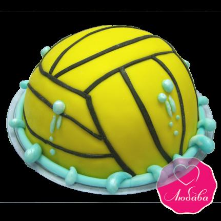 Торт на день рождения вотерполисту №1861