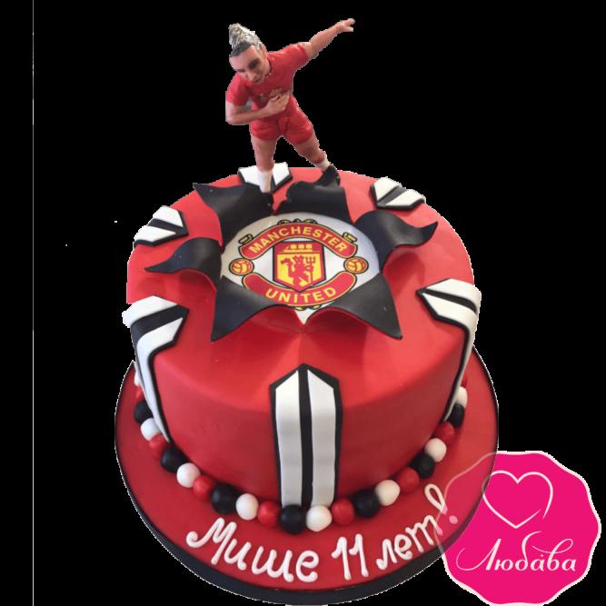 Торт на день рождения Манчестер Юнайтед №1864
