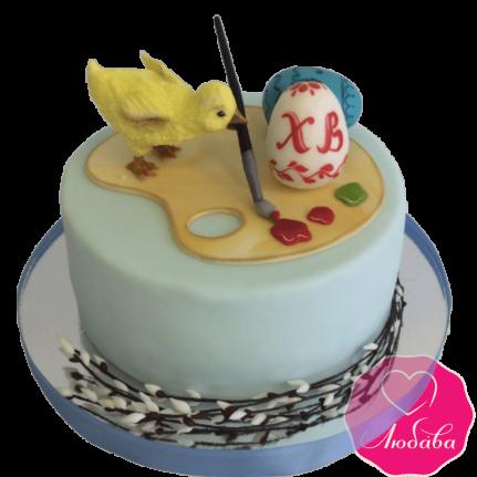 Торт праздничный на Пасху №1911