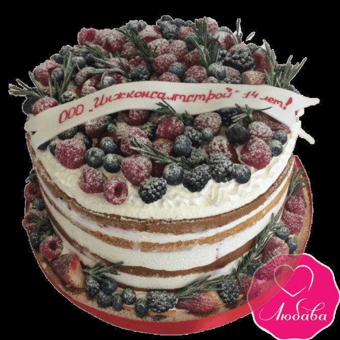 Торт корпоративный ягодный №1912