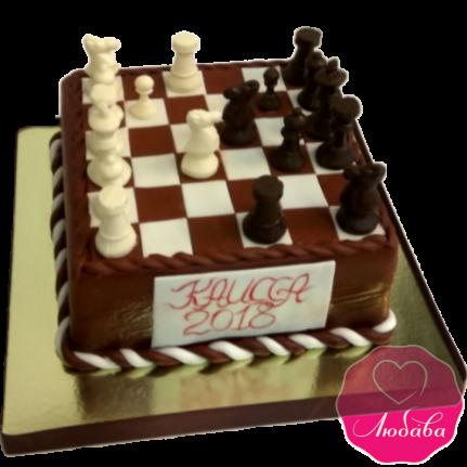 Торт на день рождения для шахматиста №1925