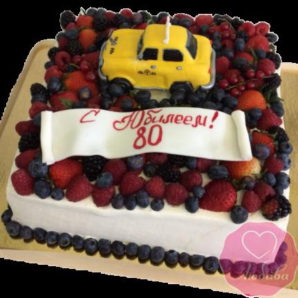 Торт на юбилей таксисту №1931