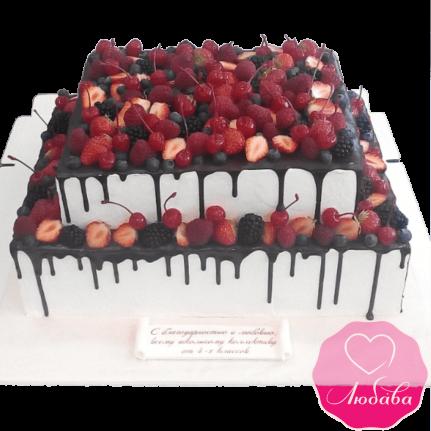 Торт ягодный на выпускной №1942