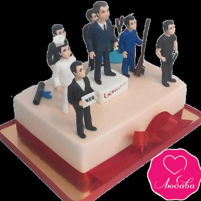 Торт корпоративный для руководителя №1946