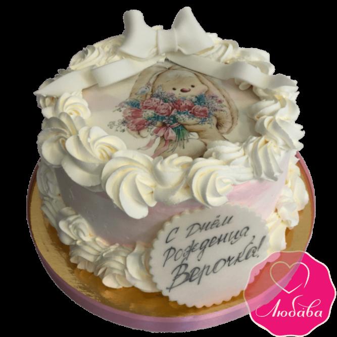 Торт с зайкой №1966