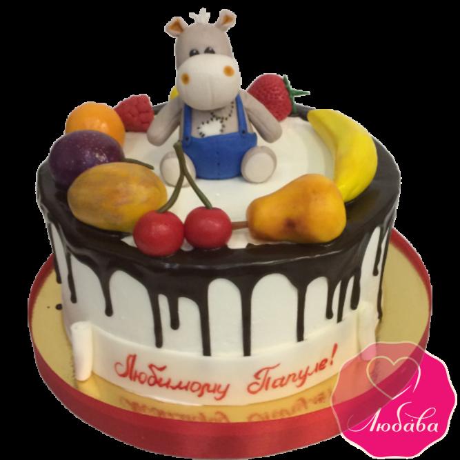 Торт на день рождения папе №1979