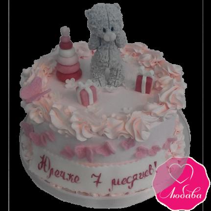 Торт детский с мишкой №1982