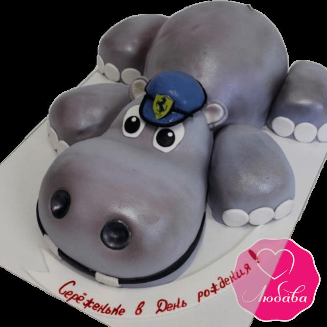 Торт бегемот №2012