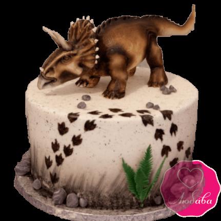 Торт с динозавром №2026