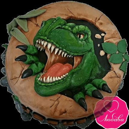 Торт динозавр Рекс №2027