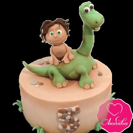 Торт с динозавриком №2028