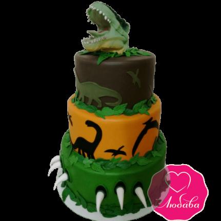 торт детский динозавр  №2029