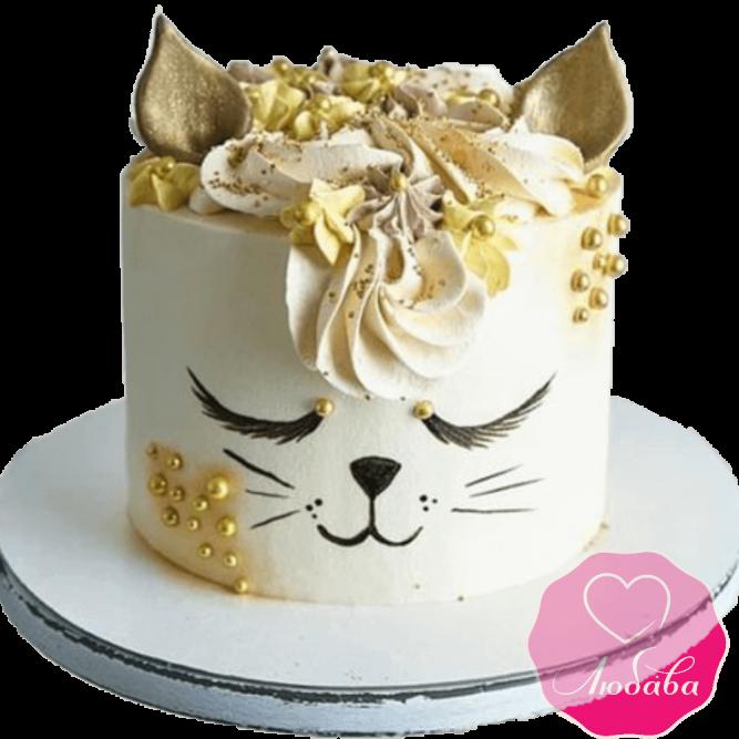 торт детский котик №2035