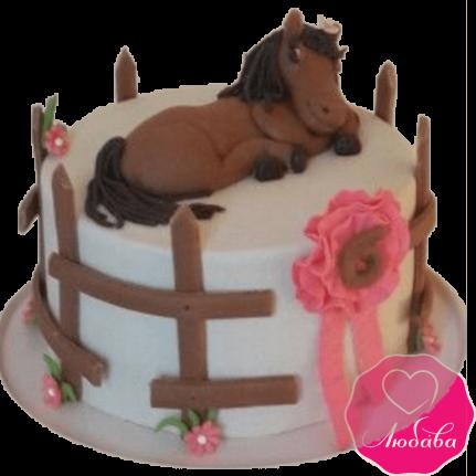 торт детский лошадка №2039