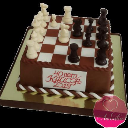 торт на день рождения шахматы №2052