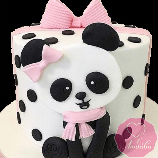 торт детский панда №2057