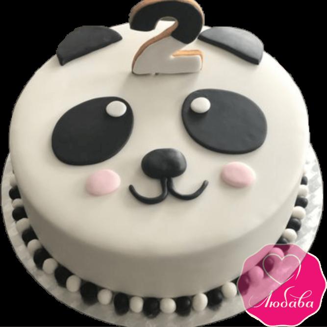 торт детский панда №2058