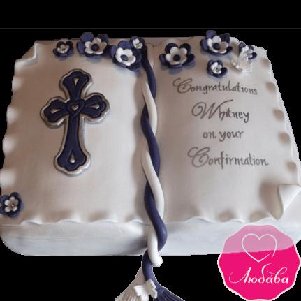 торт детский на крещение ребенка креативный №2070