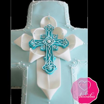 торт детский на крестины необычный №2077