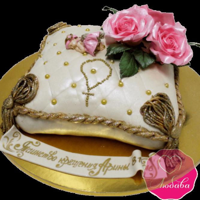 торт детский оригинальный на крестины №2087