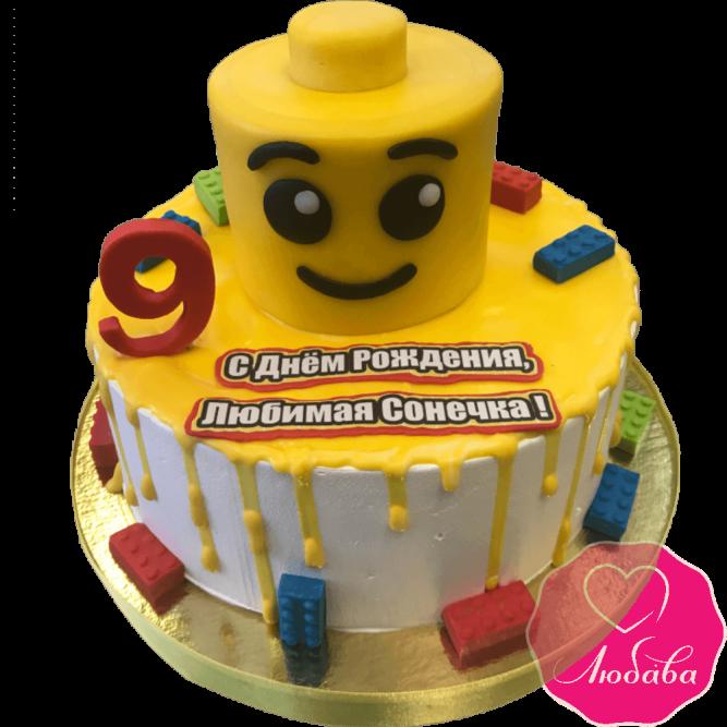 торт детский без мастики кубики №2105