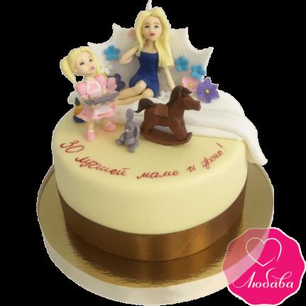 торт на день рождения маме и жене №2112
