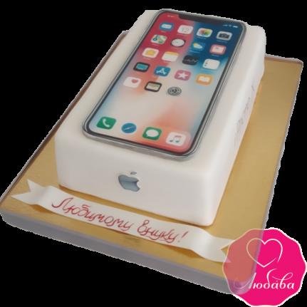 торт на день рождения iphone X №2113