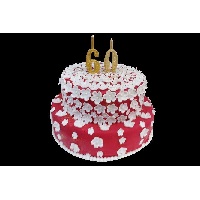Торт на 60 лет №282
