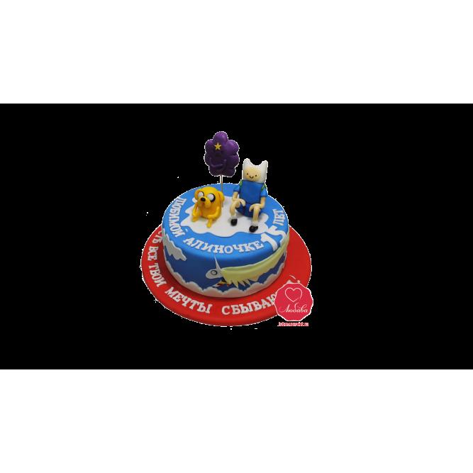 Торт Время приключений №1081