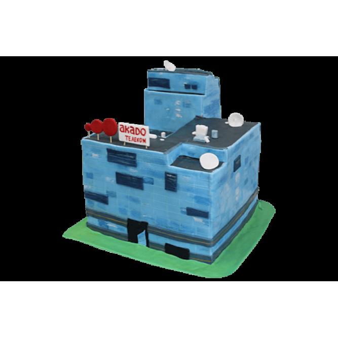 Торт корпоративный Akado телеком №563