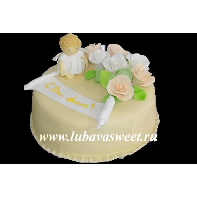 Торт с днем Ангела №124