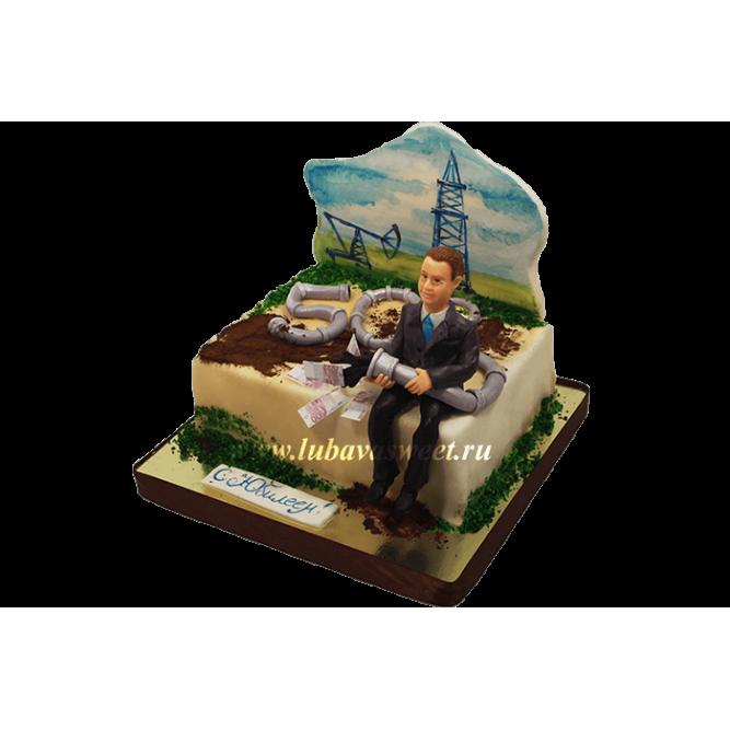 Торт на юбилей мужчине №700