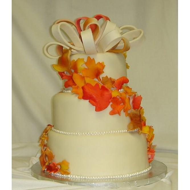 Торт Осенние листья №770