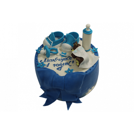 Торт Малышу годик №503