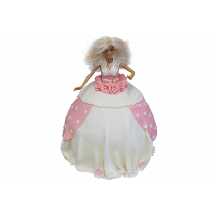 Торт Кукла Барби №249